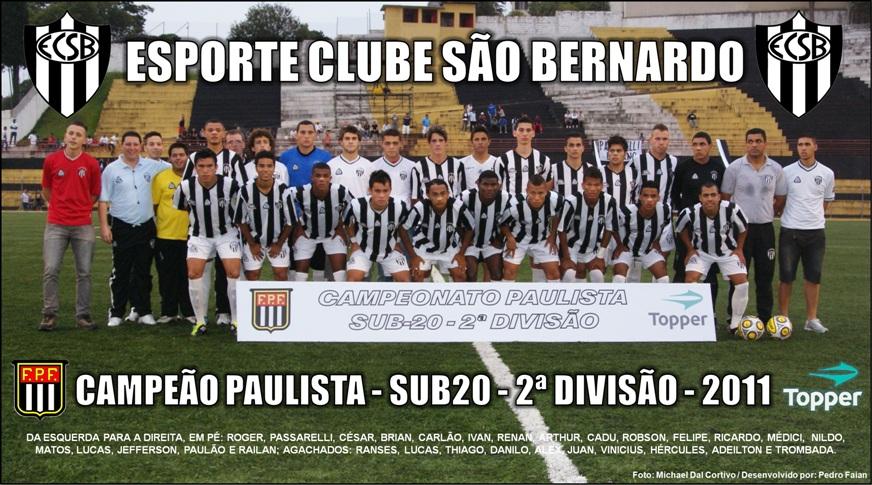 Esporte Clube SÃO BERNARDO - Blog Oficial