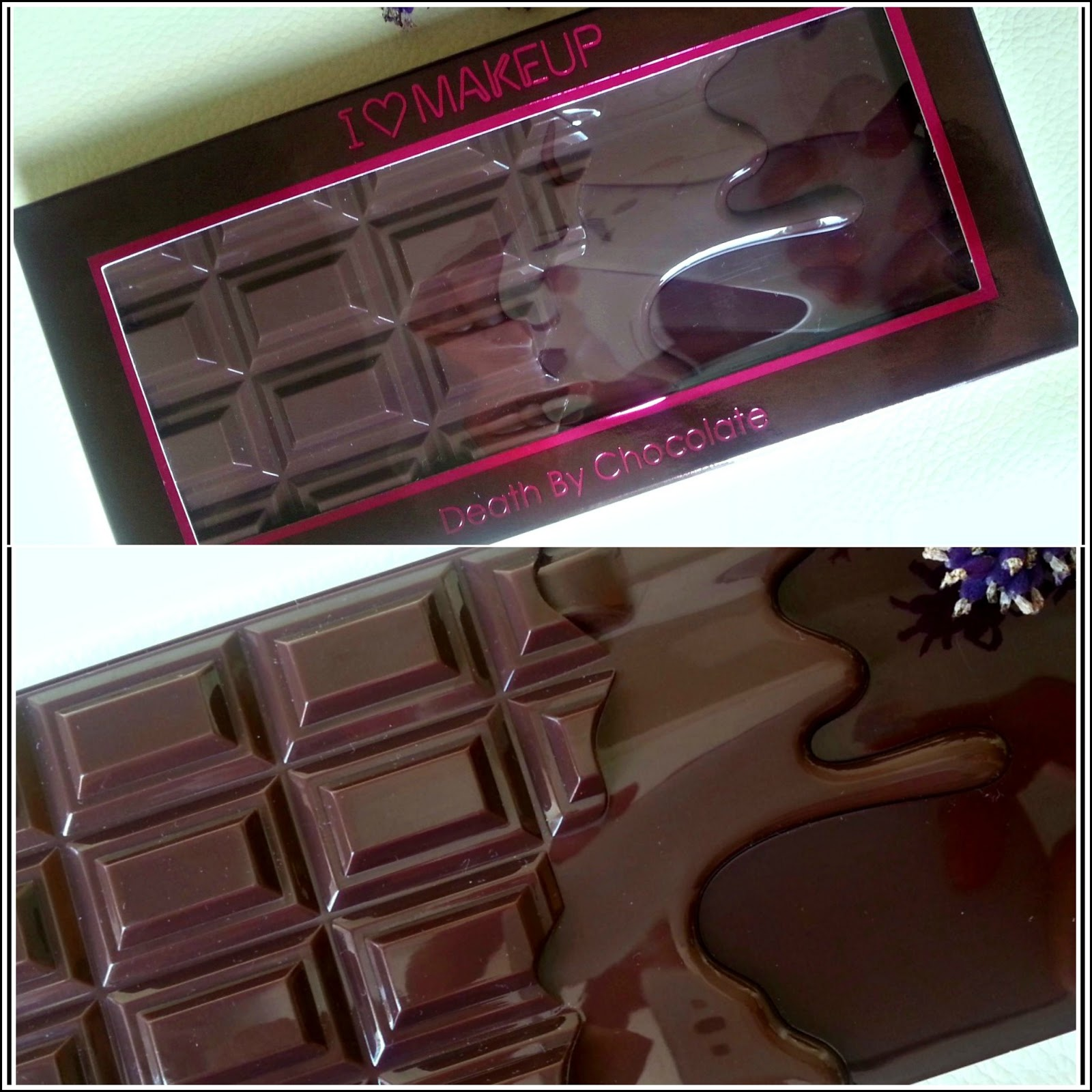 I ♡ Makeup Eyeshadow Palette Death by Chocolate