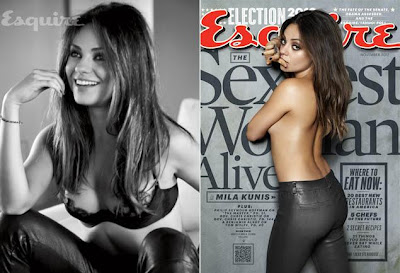 Mila Kunis named Esquire's Sexiest Woman Alive 2012