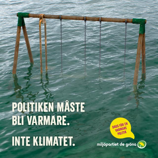 Vi kan inte låta bli att agera när planeten förstörs - Rösta grönt till EU