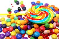 caramelos colores