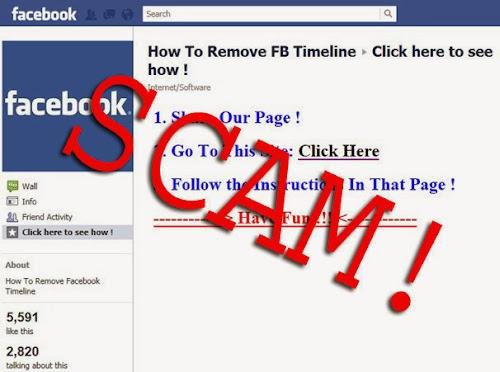 Macam-Macam Penipuan (Scam) Paling Laris Di Facebook