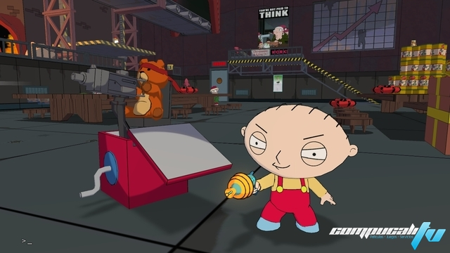 Family Guy Back to the Multiverse PC Full Español Skidrow Descargar 2012
