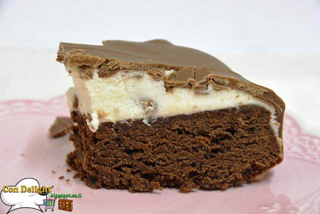 עוגת שלושה שוקולדים three chocolates cake
