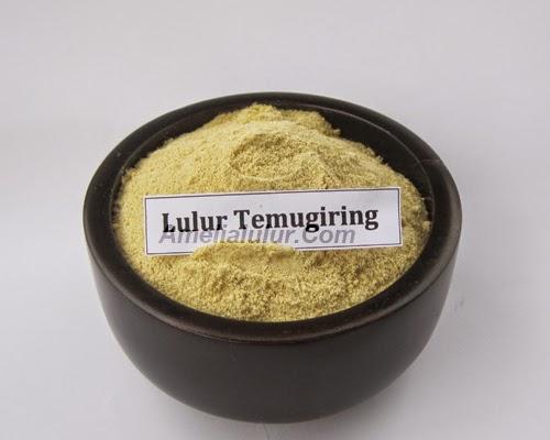 Lulur Kuning - Body Scrub Temugiring