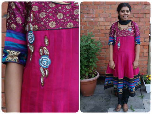 Desi outfit of the day/ churidaar