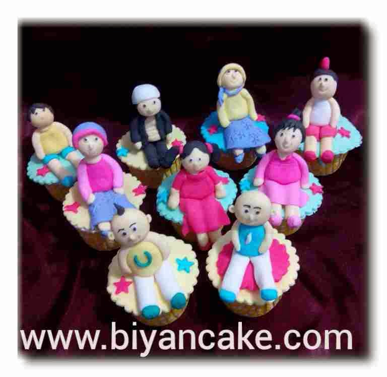 Cupcake upin ipin ~ Ernita