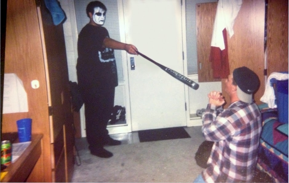 random throwback my sting costume 1997