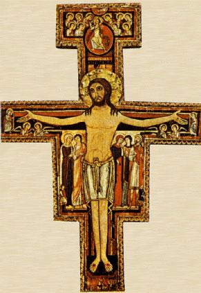 Crucifixo São Damião, vamos conhecê-lo clique no ícone.