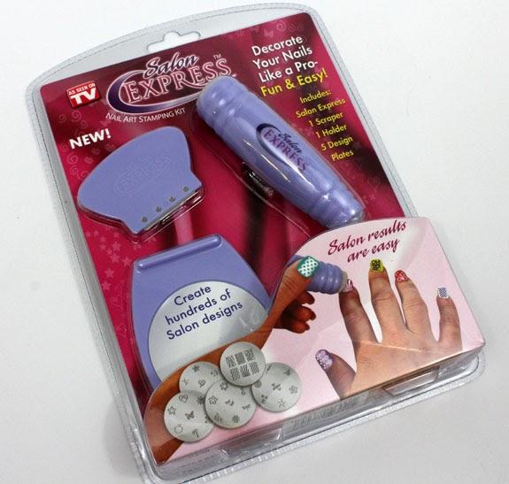 Mile's MakeUp Land!: Salon Express Nail Art Stamping Kit **Review**