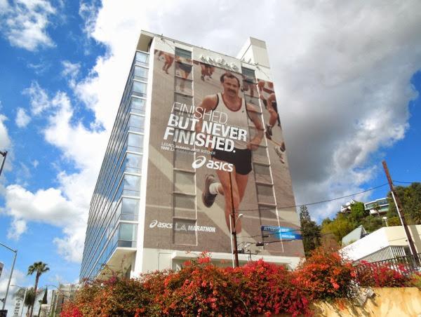 Giant Asics LA Marathon 2014 billboard