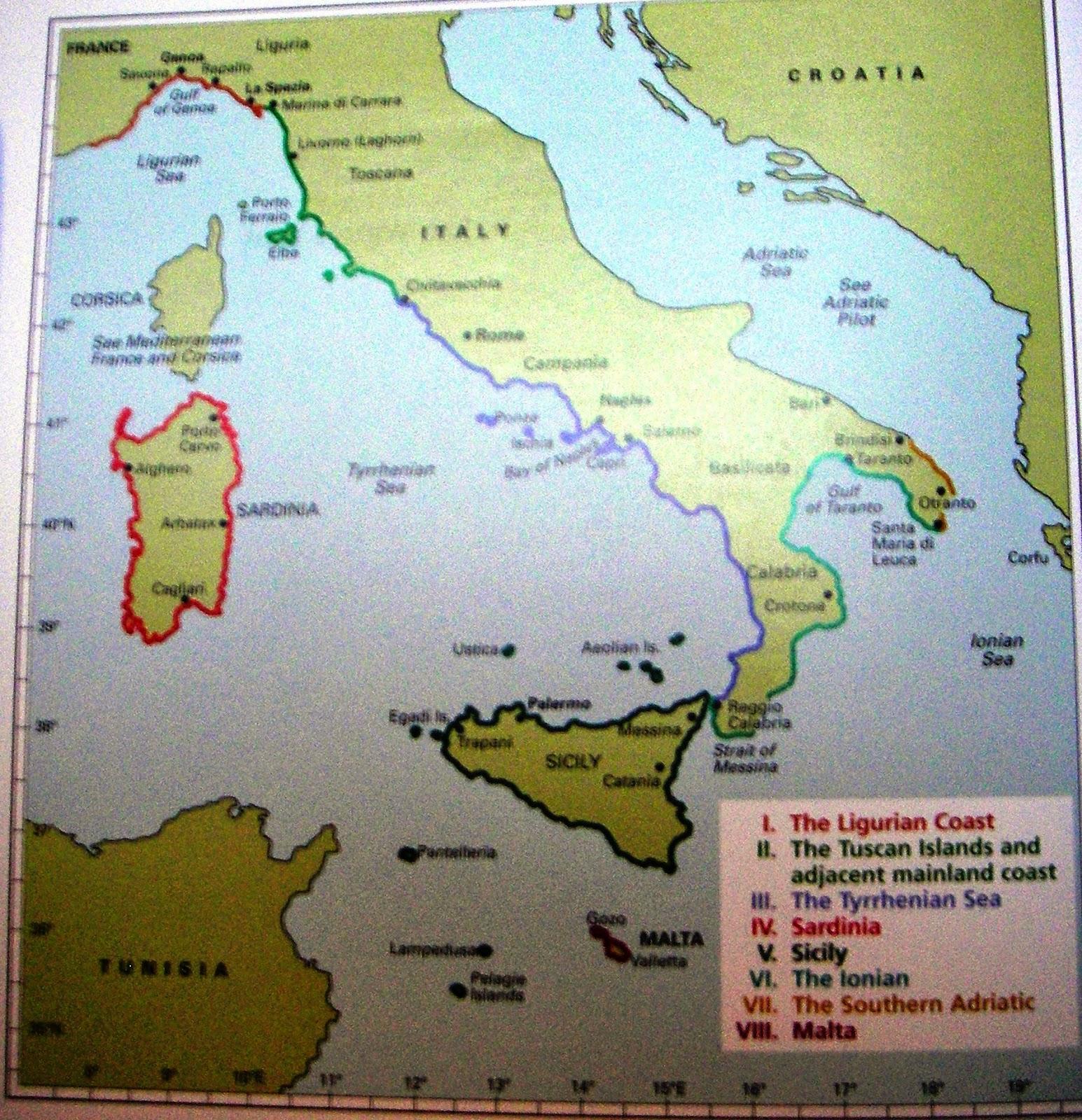 Stravaigins Adventures Corsica to Marina di Ragusa Sicily our