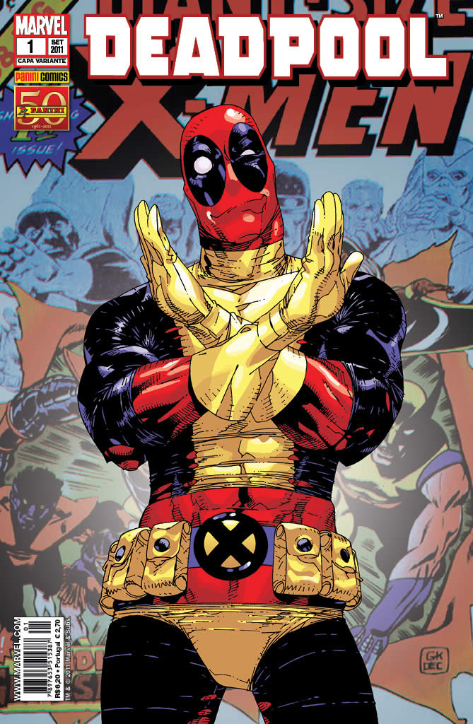 Marvel Deadpool Ausmalbilder Gratis: MARVEL E DC UNIVERSE: No Brasil, Editora Lança A Revista