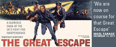 The Great Escape campaign from the United Kingdom Independent Party (UKIP)