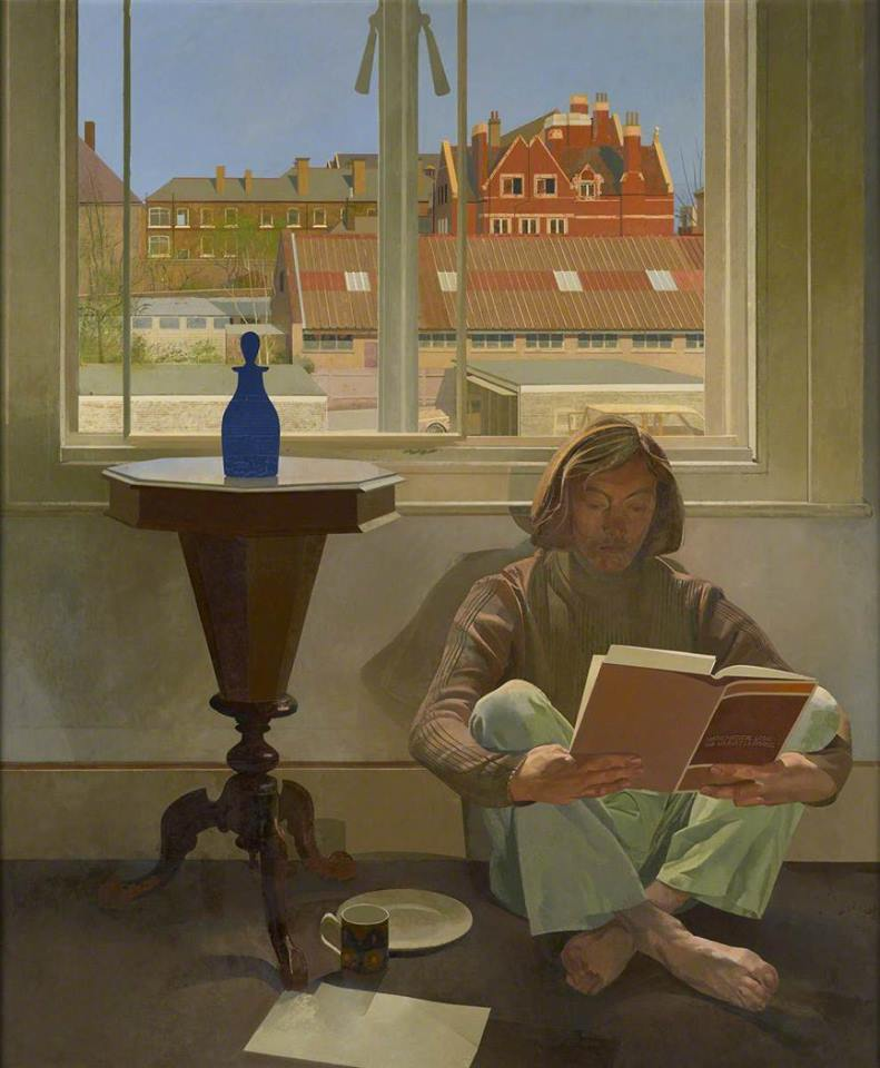 Norman Charles Blamey. Spring and the Student, 1974