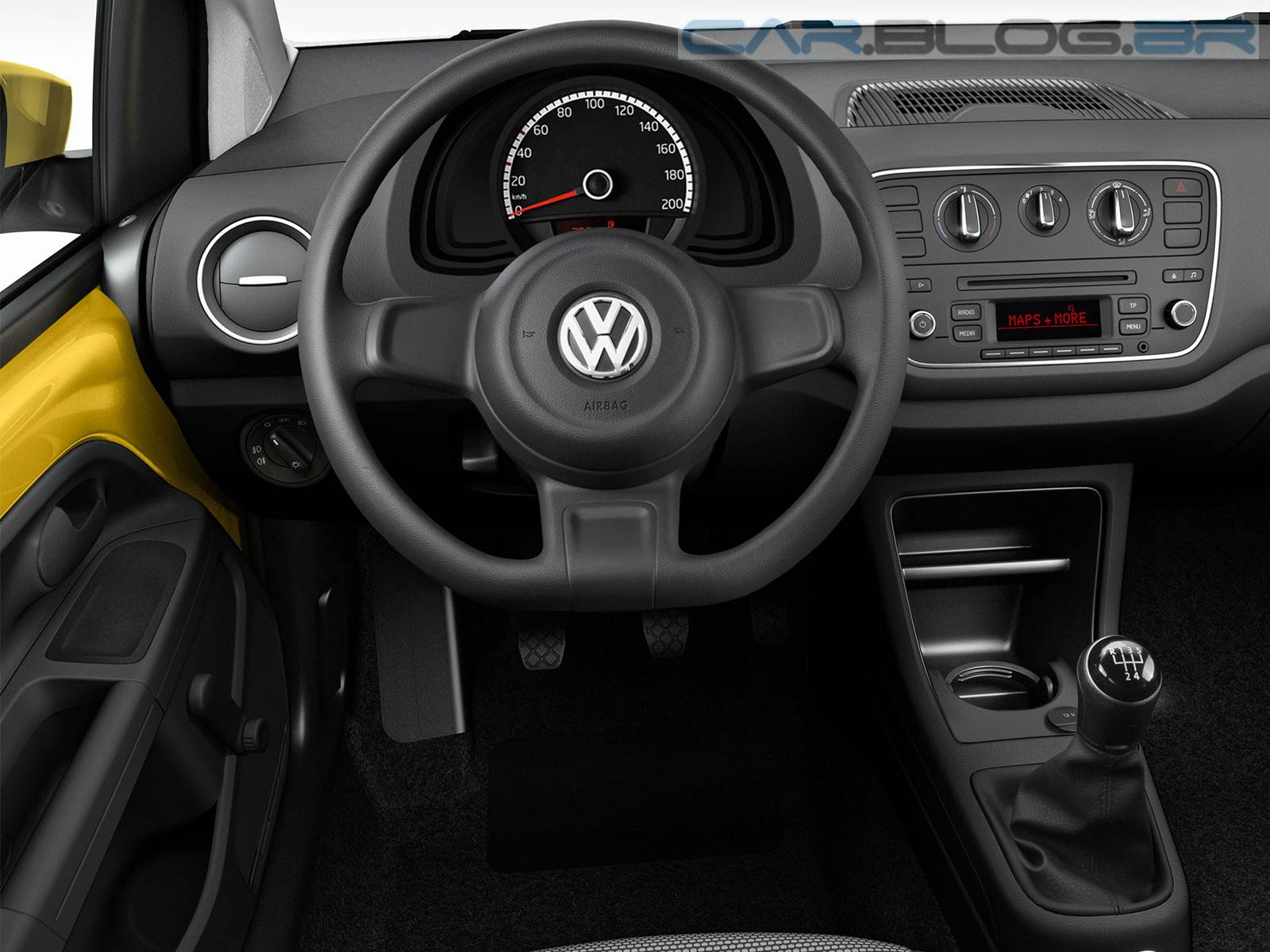 Volkswagen up! Take-up! - interior - painel