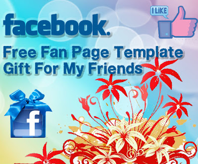 Free Facebook Fbml Fan Page Template Gift For My Friends