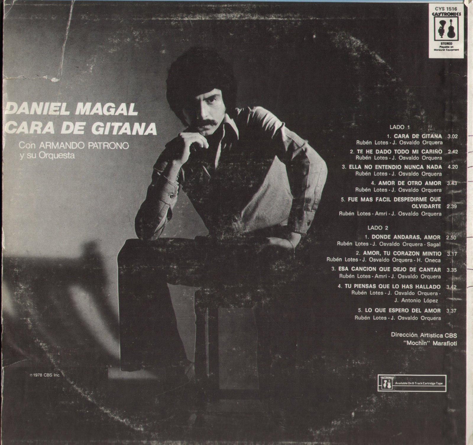 Daniel Magal Cara De Gitana