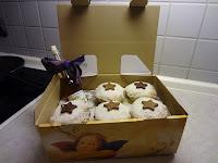 Muffins werden verpackt