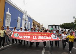 14 DE JUNIO: SUTEP LA LIBERTAD PRESENTE EN LA LUCHA