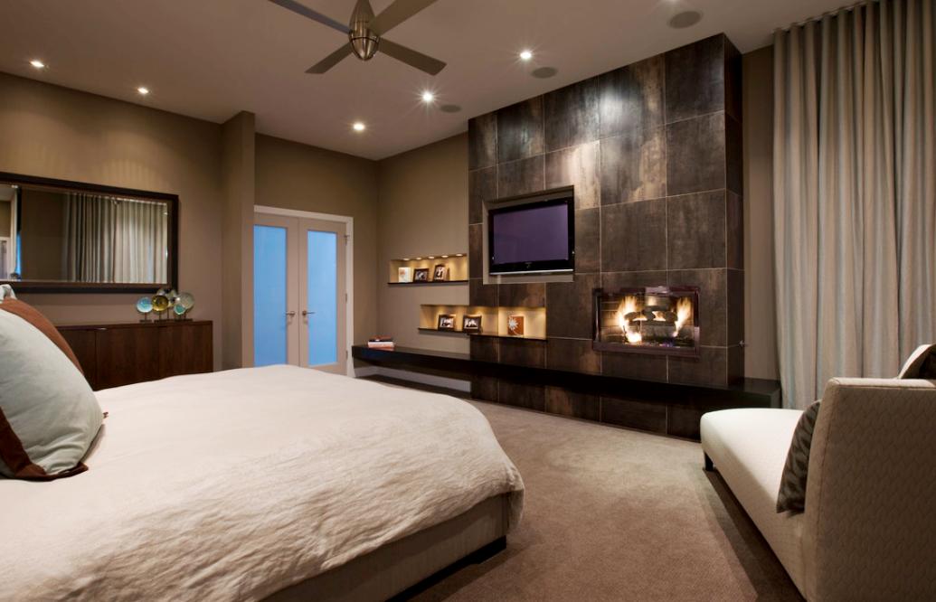 Master Bedroom Tv Unit greensboro interior design - window treatments greensboro - custom