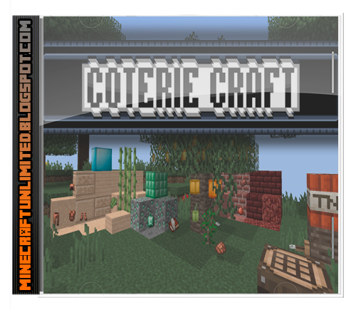 Coterie Craft Texture Pack minecraft