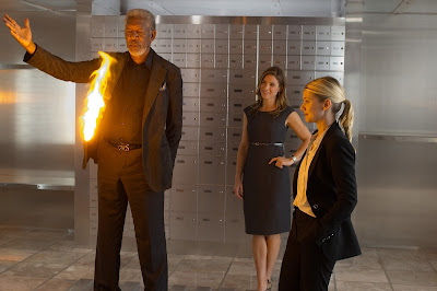 Morgan Freeman Melanie Laurent Now You See Me