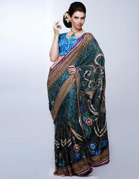 Kay Fashion Bay Designer Sari Collections