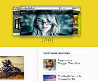 25 Best Free Blogger Templates 2014