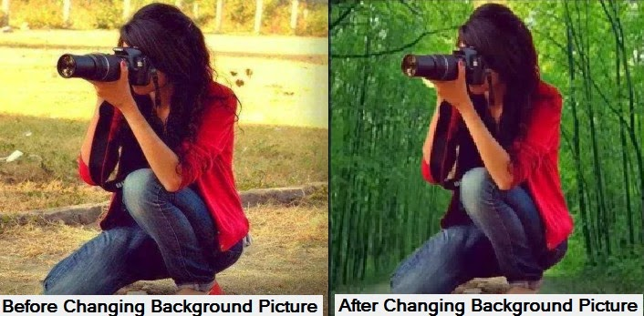 Before Or After Change Background With Photoshop Cs6