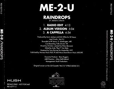 Me-2-U - Raindrops-Promo-CDS-1994