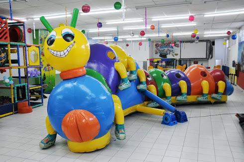 Centopeia inflável