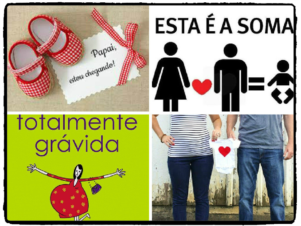 Well-known Ideias para anunciar a gravidez para a família e para os amigos! ZR13