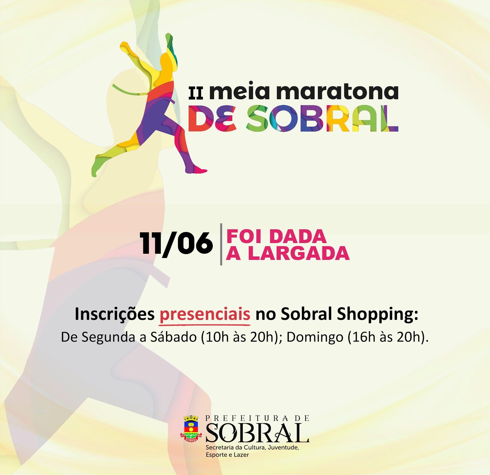 II MEIA MARATONA DE SOBRAL