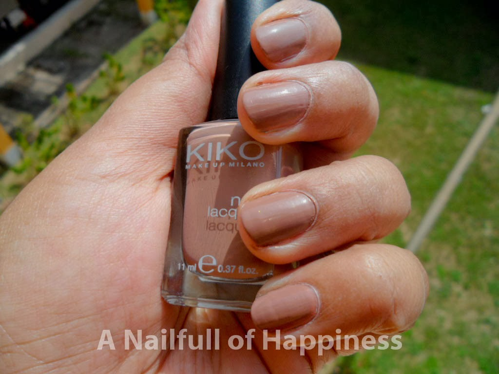 A nail-full of happiness: Kiko Makeup Milano Nail Lacquer in no. 371 ...