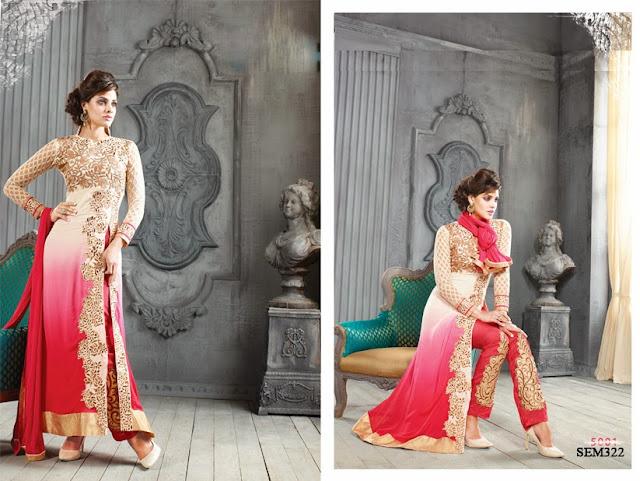 Buy New Designer Long Anarkali Suit | Wholesale Supplier