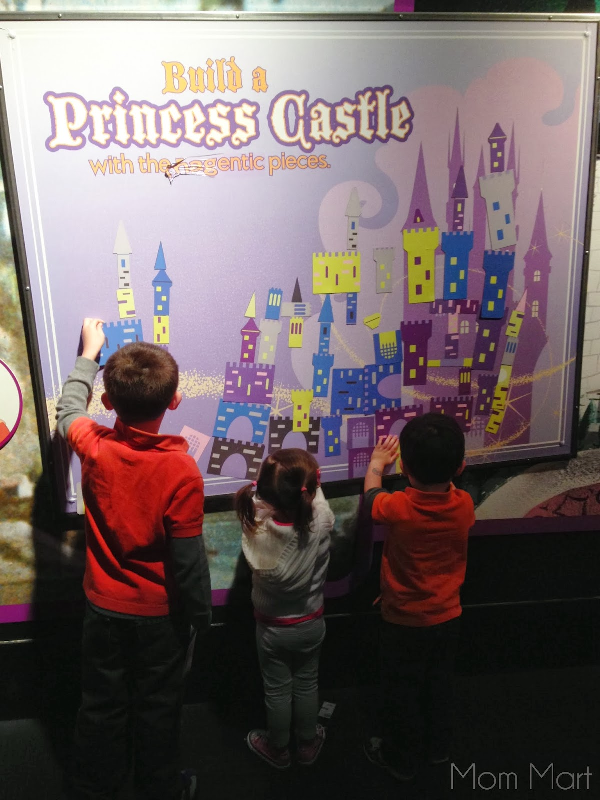 Disney Exhibit at MOSI Treasures of the Walt Disney Archives  #HandsOnActivityForKids