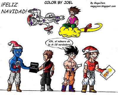 Dibujos De Navidad En Color. Affordable El Dibujo De Navidad A Color ...