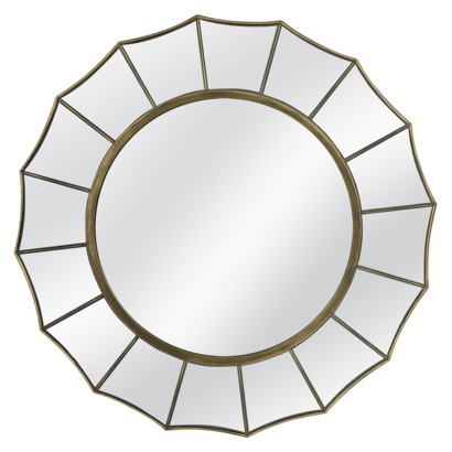 TARGET THRESHOLD STARBURST MIRROR