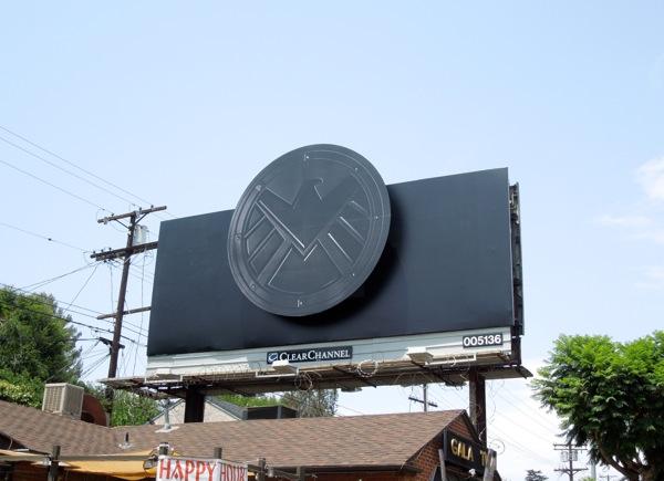 Agents of SHIELD TV teaser billboard