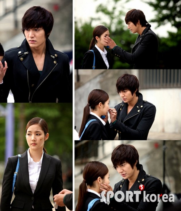 City Hunter Lee Min Ho And Park Min Young Kiss