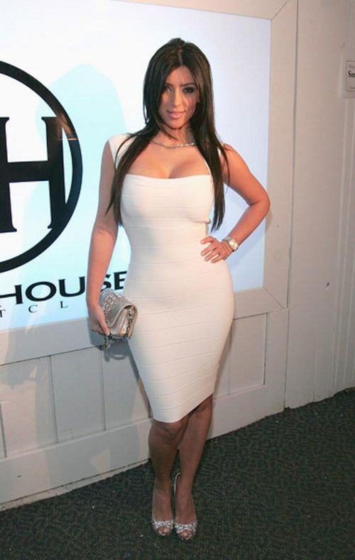 Fashion World Hot Kim Kardashian Dresses Style