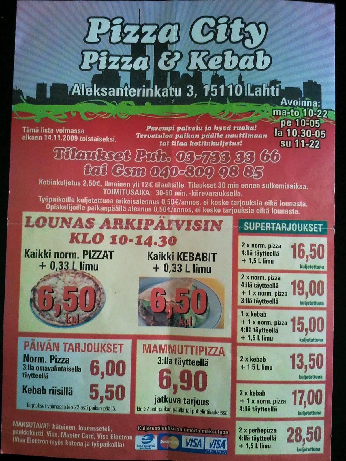 Kotipizza uudenmaankatu