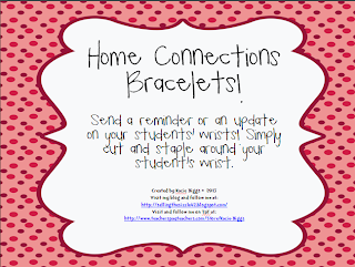 http://www.teacherspayteachers.com/Product/Home-Connections-bracelets-990065