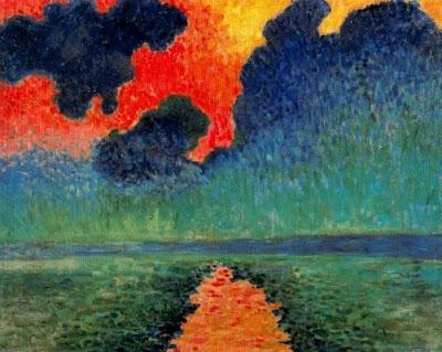 Reflexos del sol en l'aigua (André Louis Derain)