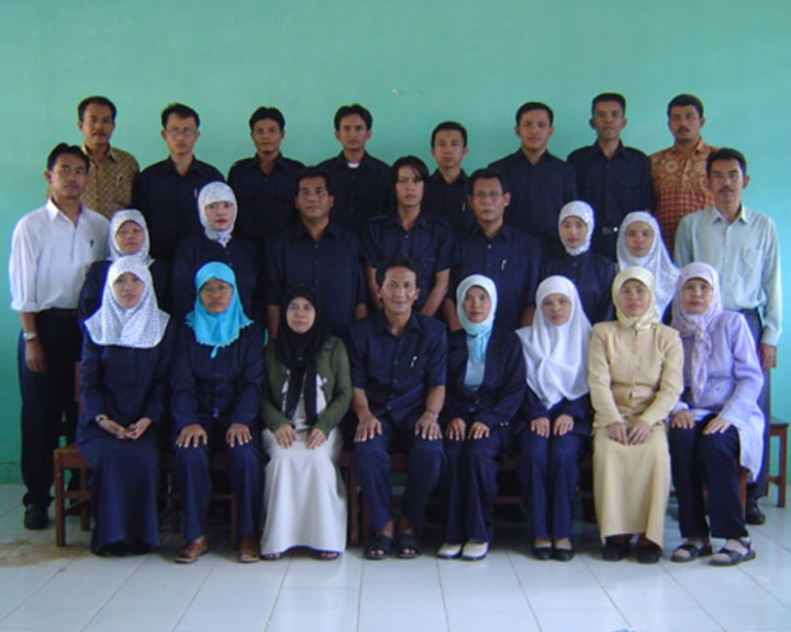 Keluarga Besar MTs Negeri Ciranjang (2006)