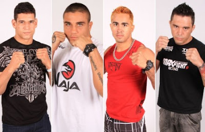 Finalistas do reality The Ultimate Fighter Brasil