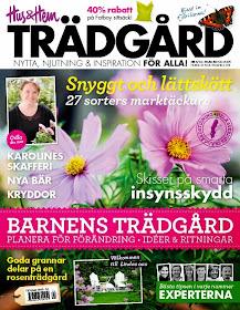Min blogg är med i Hus och Hem Trädgård