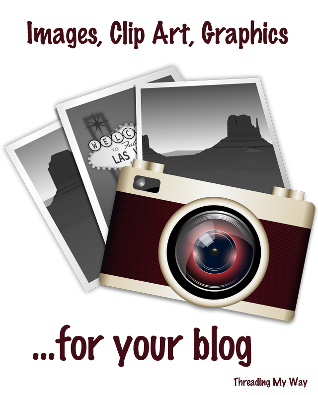 Where to find FREE images and clip art for your blog ~ Threading My Way