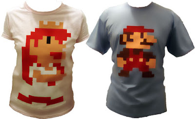 Camisa Pixelada do Super Mario - Passo a Passo - Tutorial